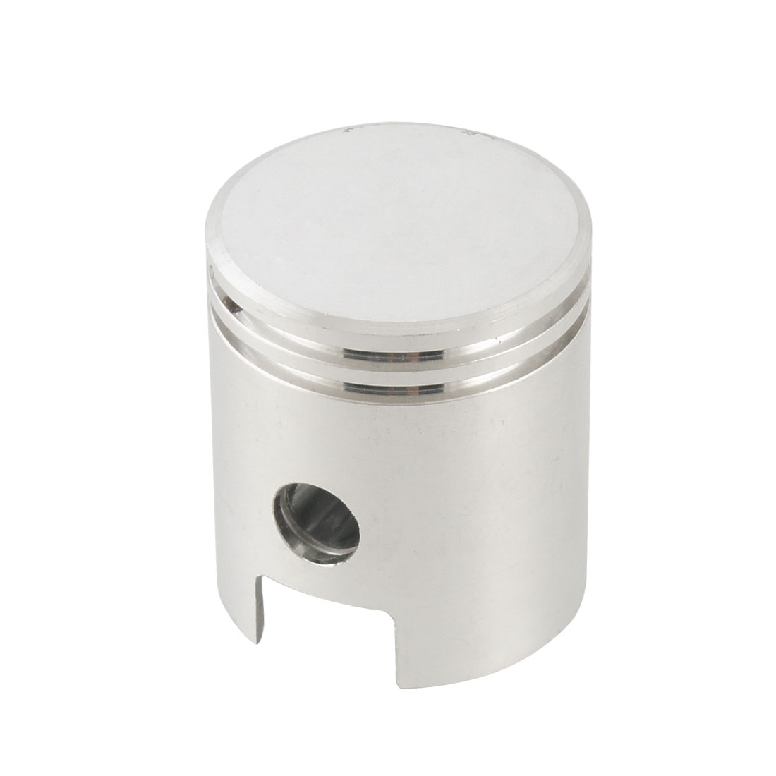 "Silver Tone Aluminum Alloy 1.57"" x 1.7"" Engine Air Compressor Piston"