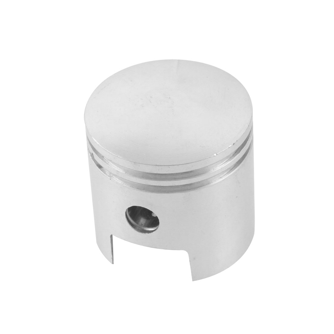 Air Compressor Silver Tone 46mm Diameter Aluminum Alloy Engine Piston