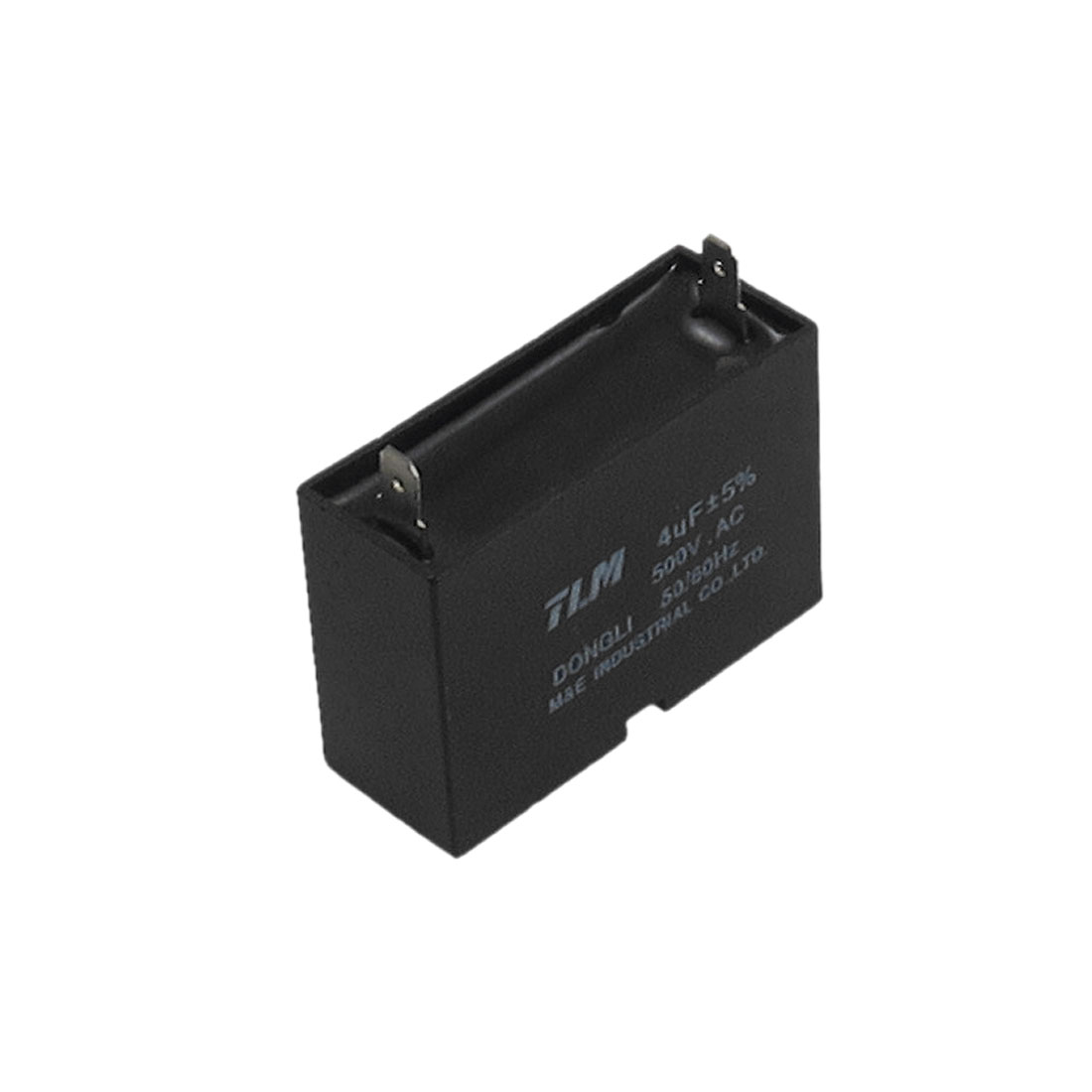 AC 500V 4uF 50/60Hz Rectangle Polypropylene Film Motor Capacitor