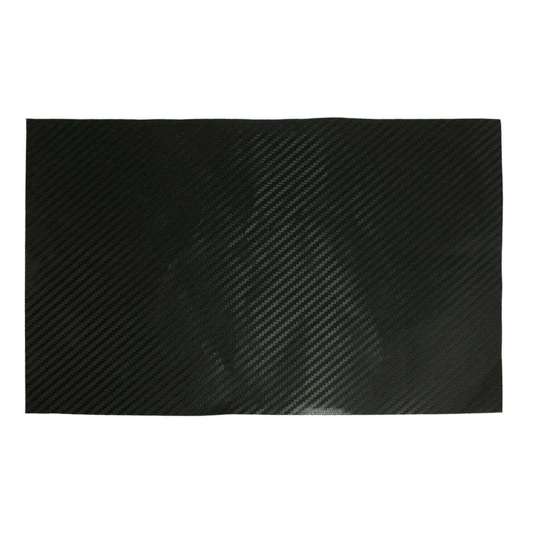 Rectangle Black 3D Car Carbon Fiber Vinyl Decal Sticker 20x30cm