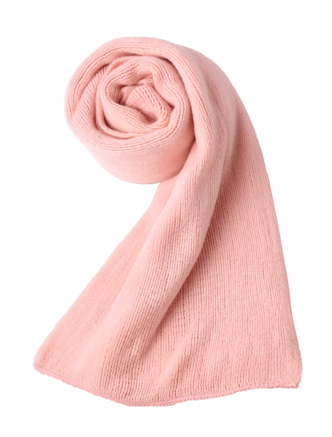 "Unisex Pink Stylish Long Acrylic Rectangle Style 11.8"" Width Winter Scarves"
