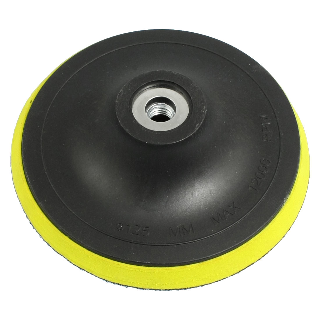 Truck Car Polish Finishing Foam Pad Polisher Black Yellow 4.9""