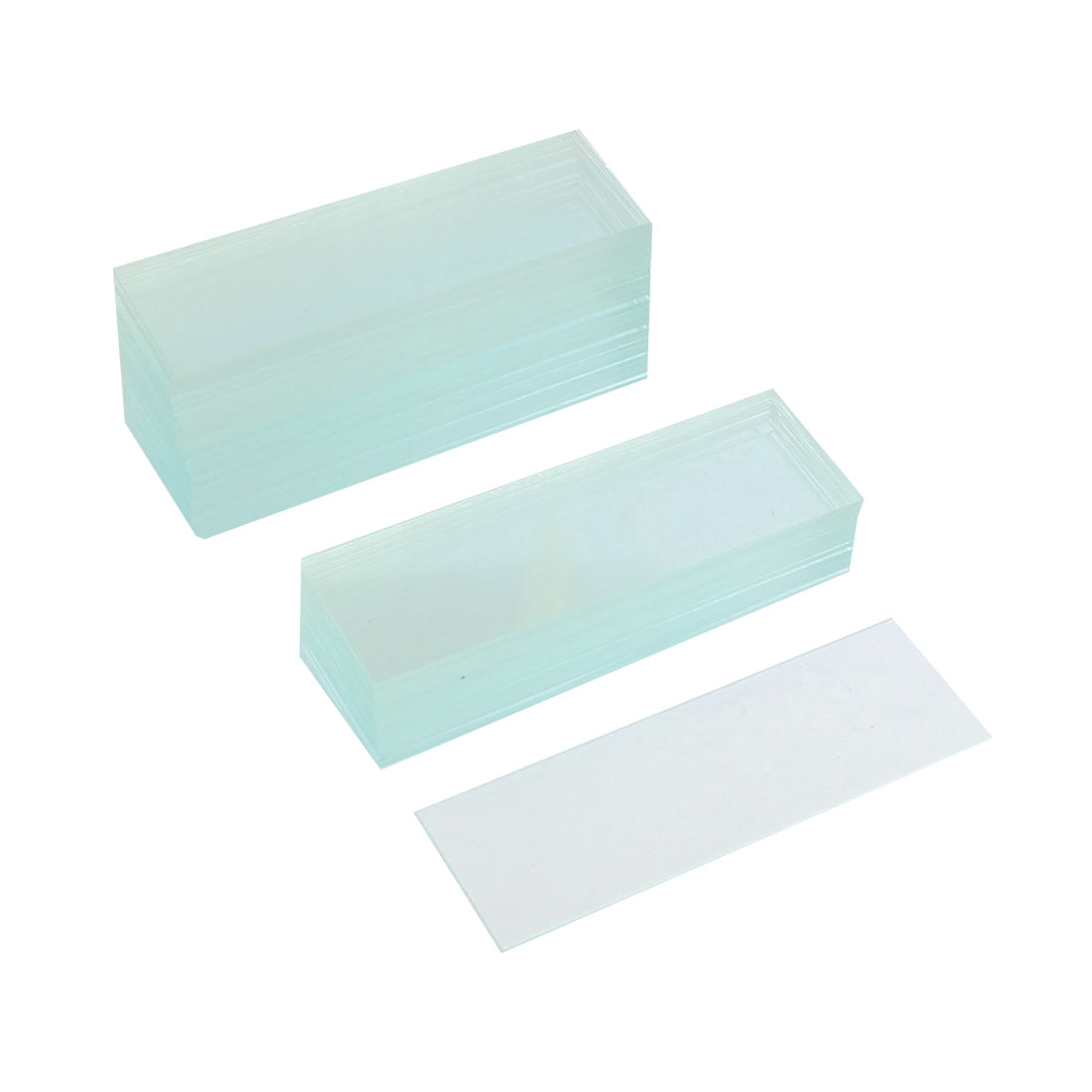 "50 Pcs Pre-cleaned Microscope Blank Glass Slides 1""x3"""