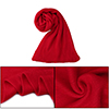 "Unisex Fashion Simple Style 81.9""x 11.8"" Winter Neckerchief Red"
