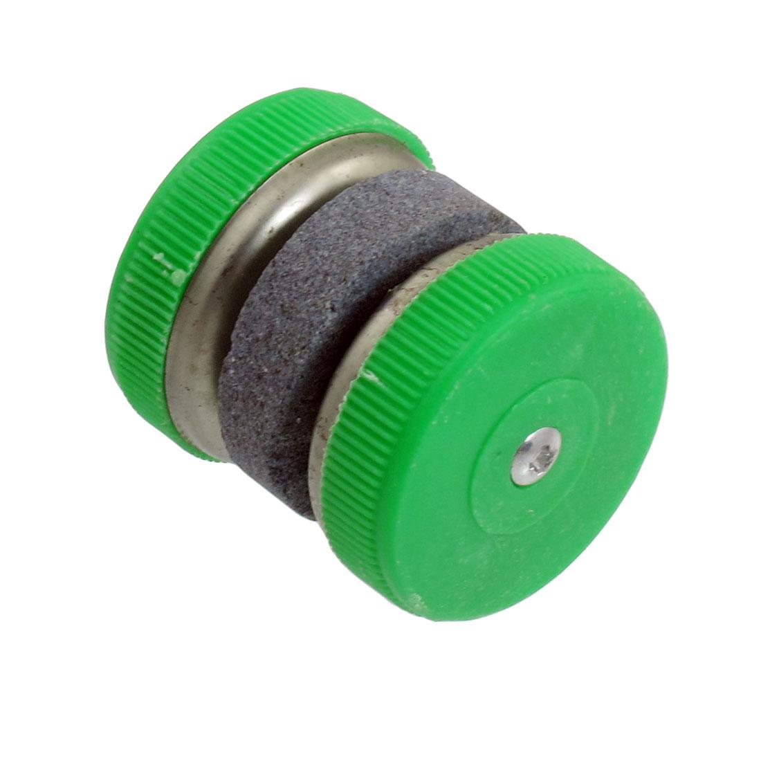 Green Cover Cutter Scissors Grinding Wheel Abrader Sharpener Tool