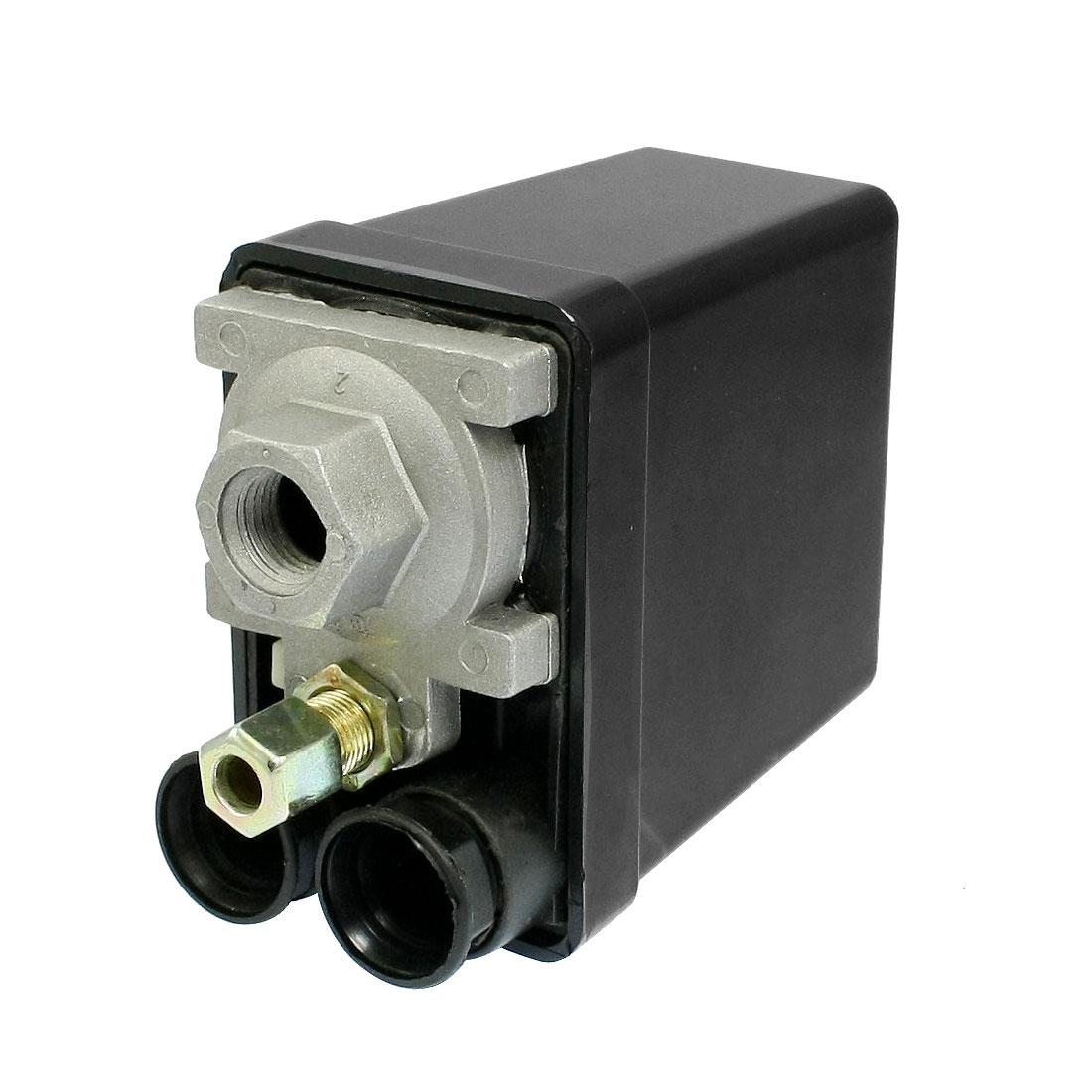 AC 240V 20A 175PSI 1-Port 1/4 NPT Pressure Switch Control Valve for Air Compressor