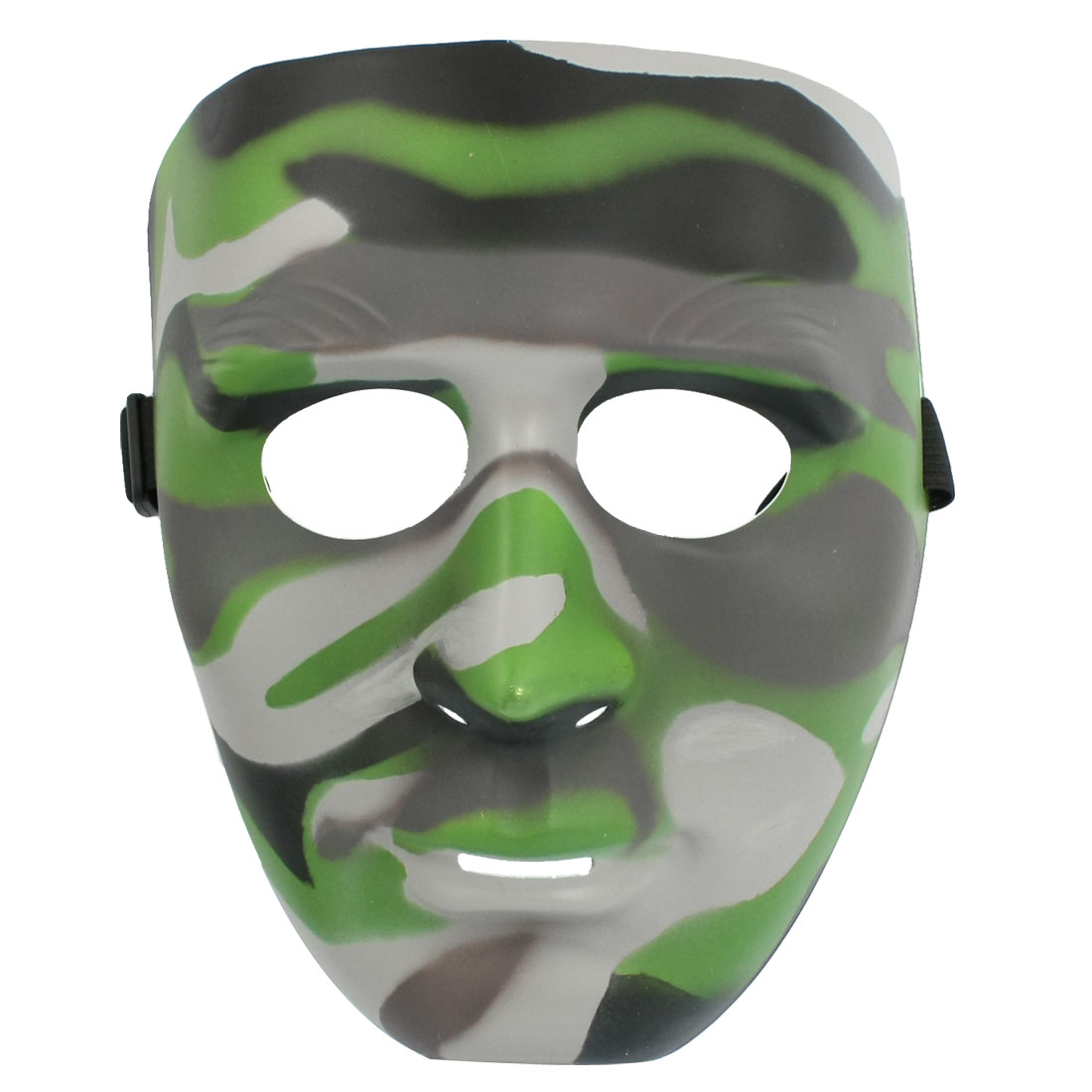 Outdoor Wargame Adjustable Band Camouflage Pattern Full Face Mask