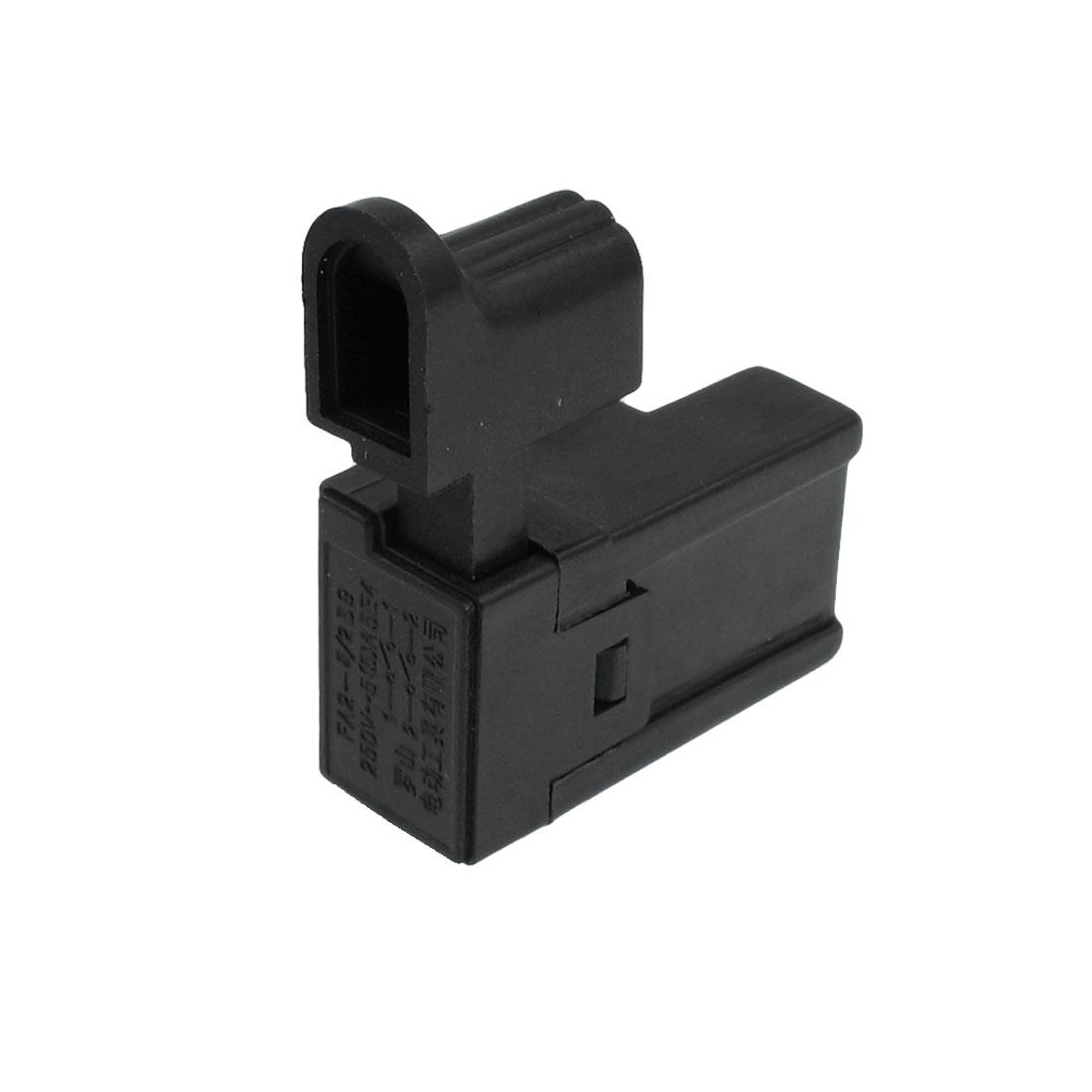 5A 250V AC 5E4 DPST Momentary Cordless Drill Switch Black FA2-5/2 B9