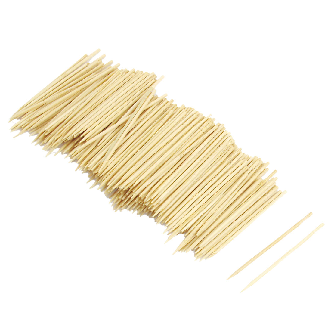 Bamboo Toothpicks Catering Cocktail Picks 6.4cm 600 Pcs