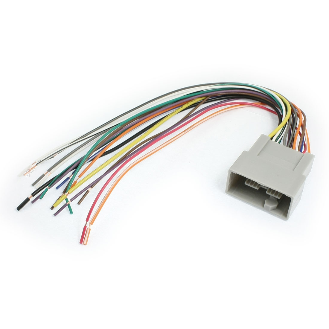 Auto Car DVD Radio Audio Wire Harness Male