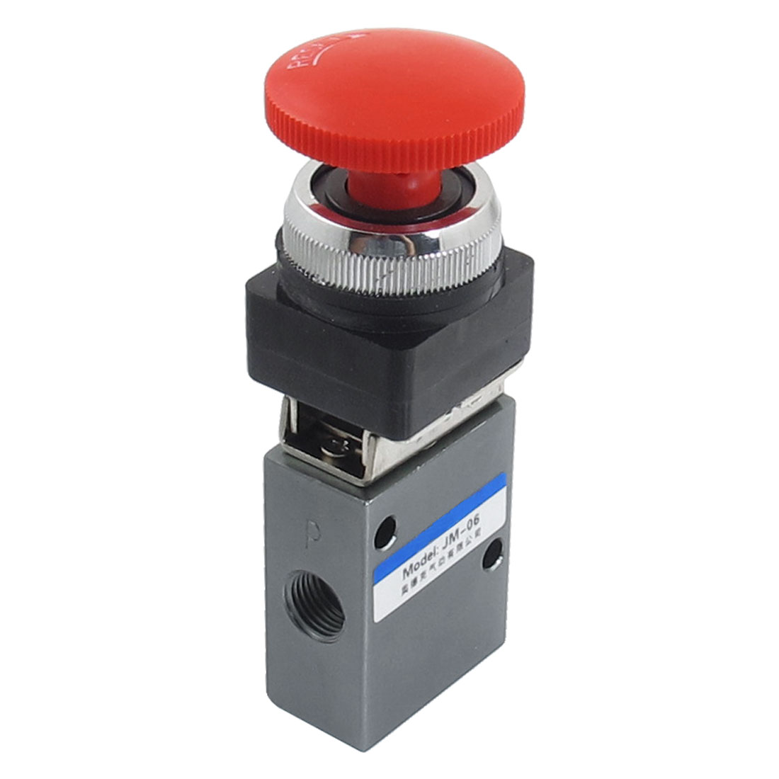 "G1/4"" 2 Position 3 Way Latching Air Pneumatic Mechanical Valve"