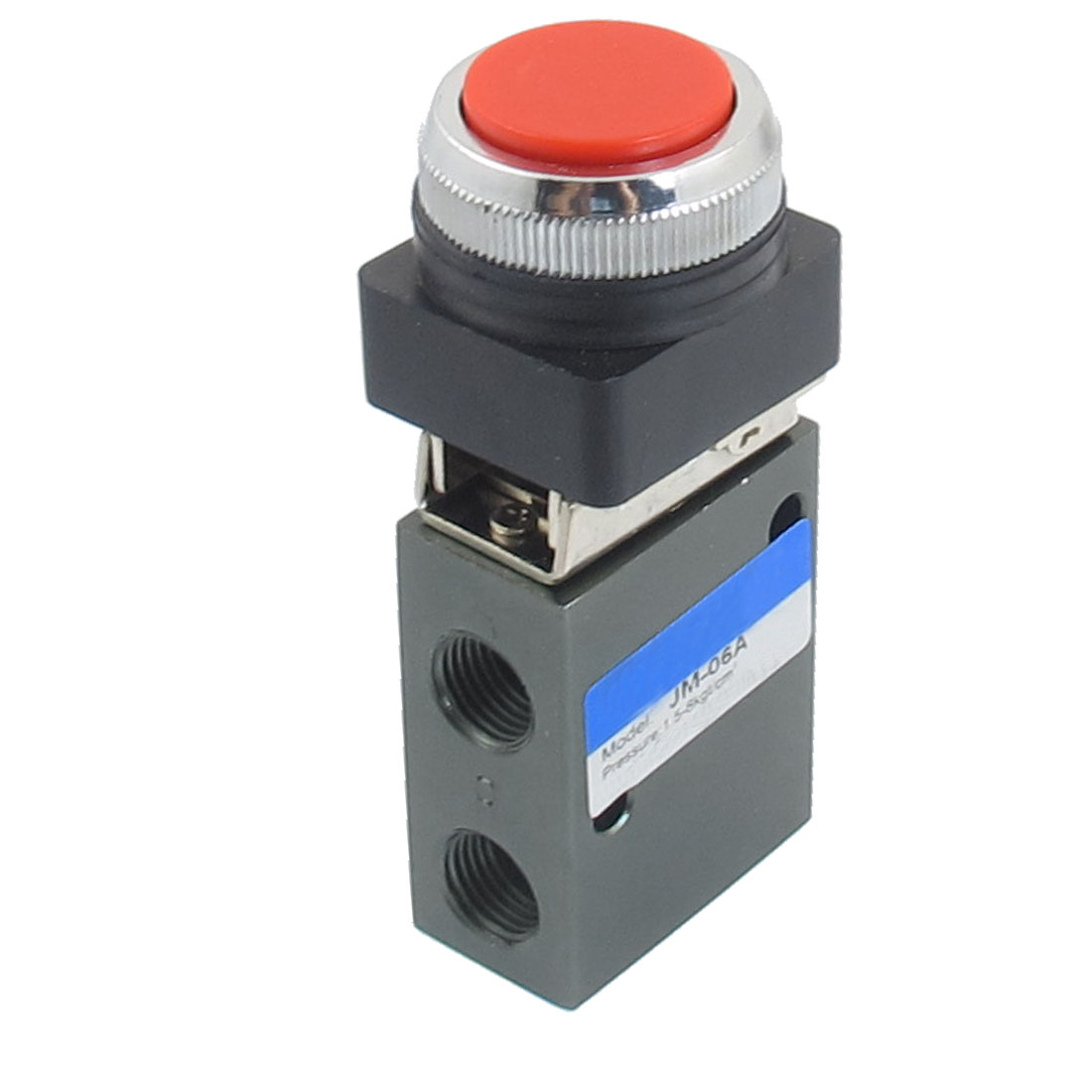 "G1/4"" 2 Position 3 Way Momentary Air Pneumatic Mechanical Valve"