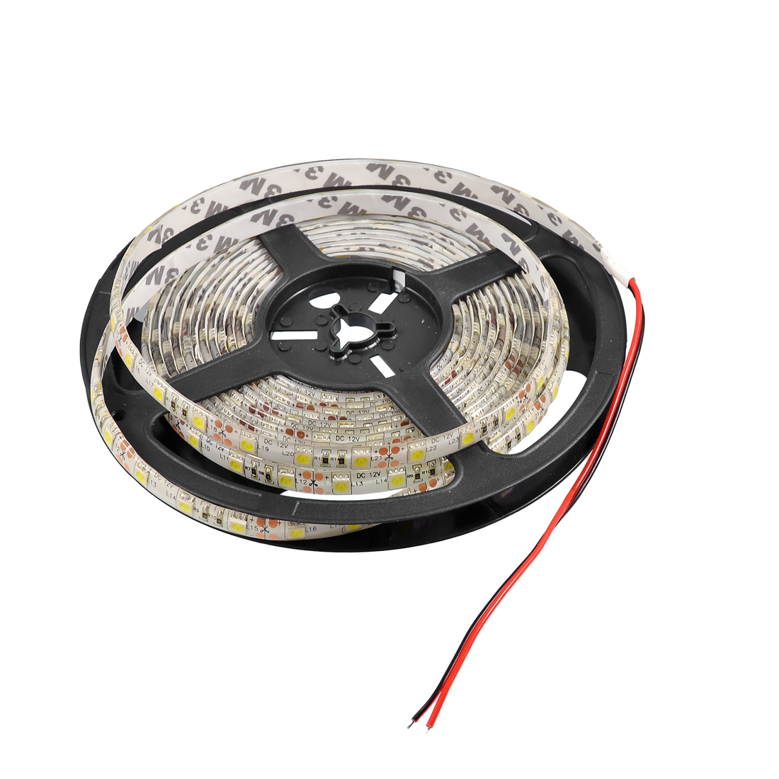 Car Auto Decorative 5M 5050 Cool White 300 SMD LED Flexible Light internal