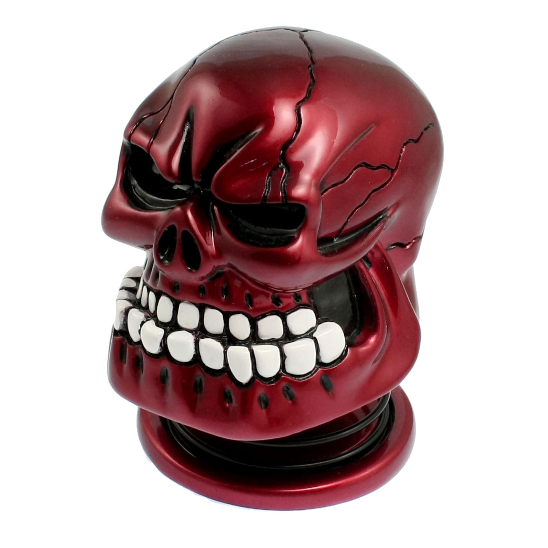 Red Skull Head USB to 3.5mm 3W Speaker for MP3 MP4 PC Laptop