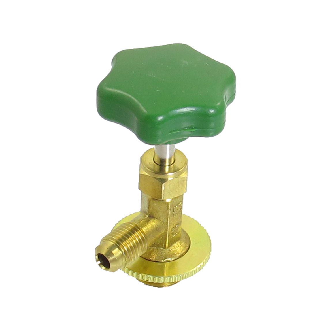 Screw On Can Tap Valve Bottle Opener Green for R12 Refrigerant