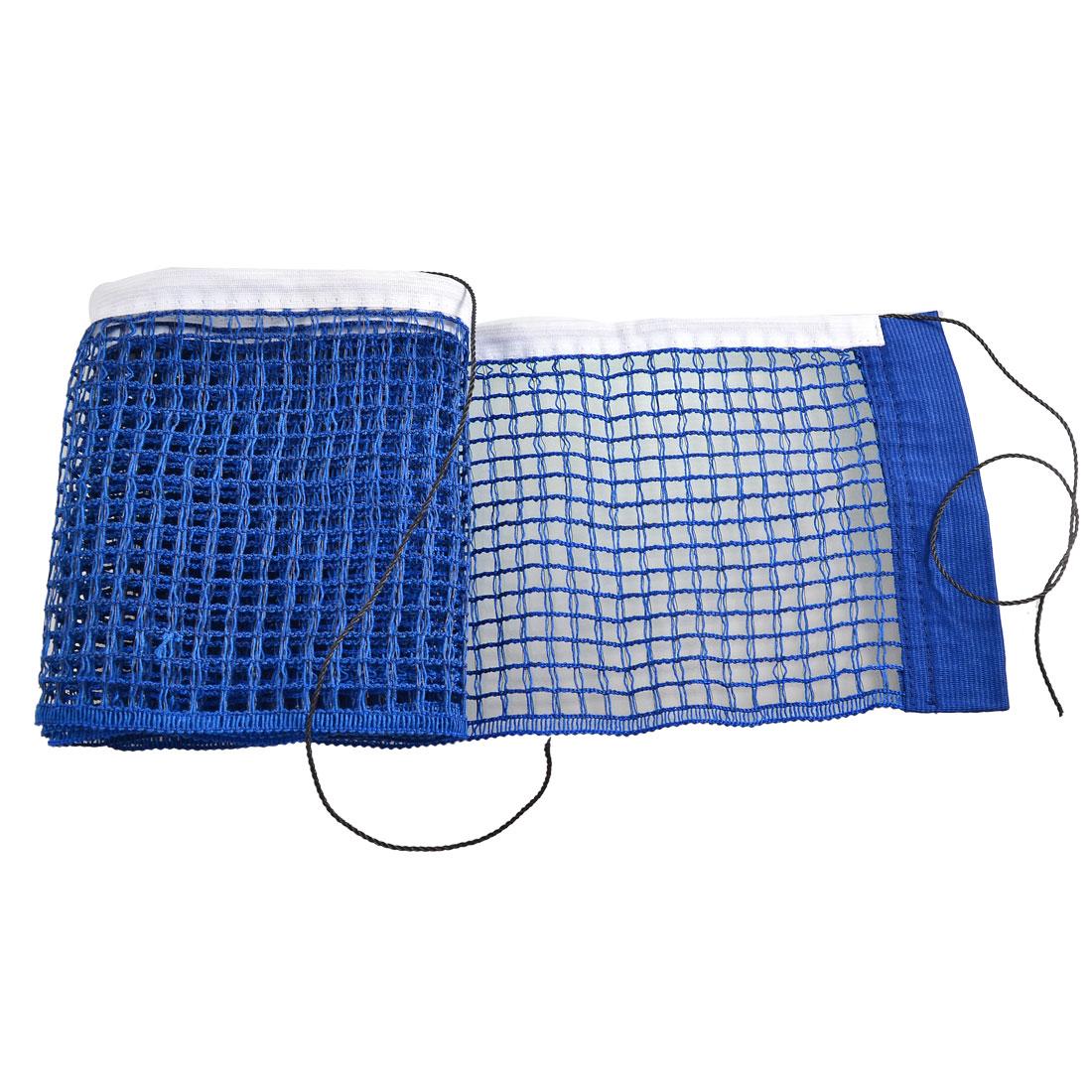 Blue Nylon 1.8M Long 15cm Width Table Tennis Net Organizer