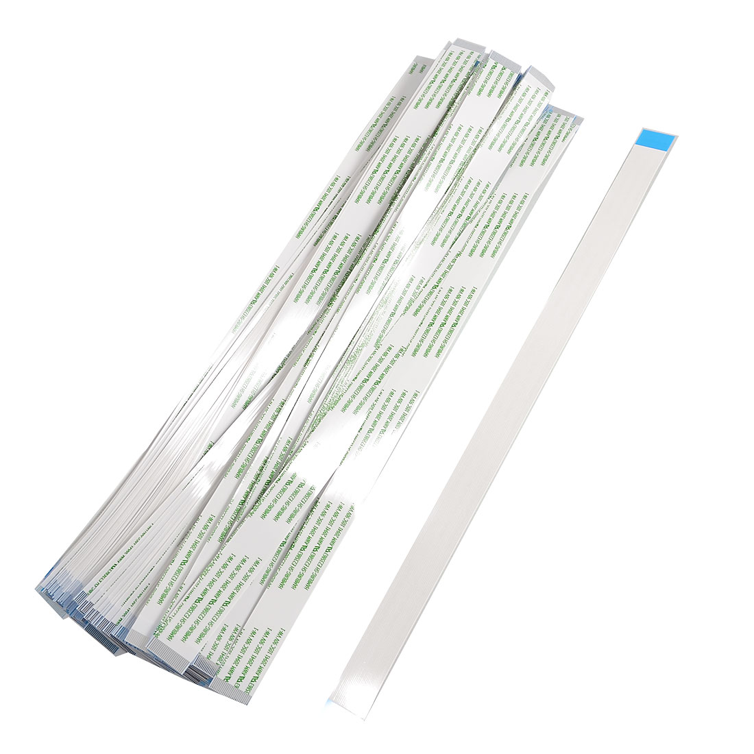 100x PC Printer 250mm Long 24 Pins A Type Flexible Flat Cables