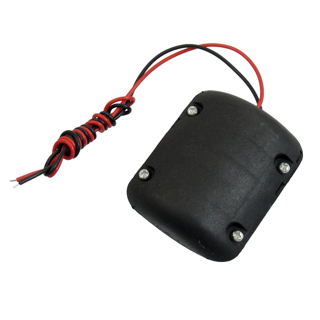 8V 4100 RPM 0.15A DC Black Box Vibration Magnetic Gear Box Motor