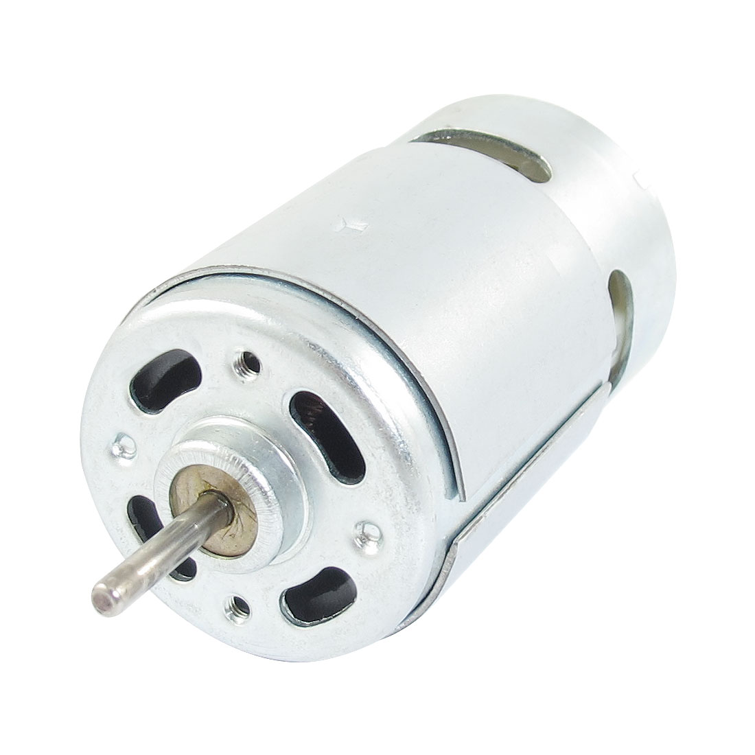 Metal Housing Flat Shape Magnetic Micro Motor 14000RPM 0.94A 12V DC