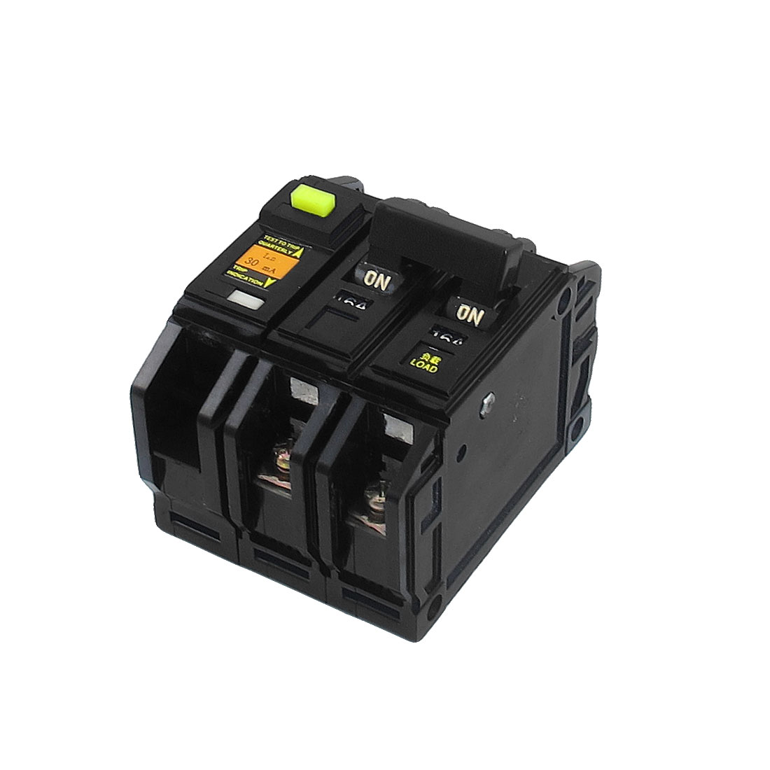 DZ12LE AC 220V/380V 16A 2P ELCB Earth Leakage Circuit Breaker