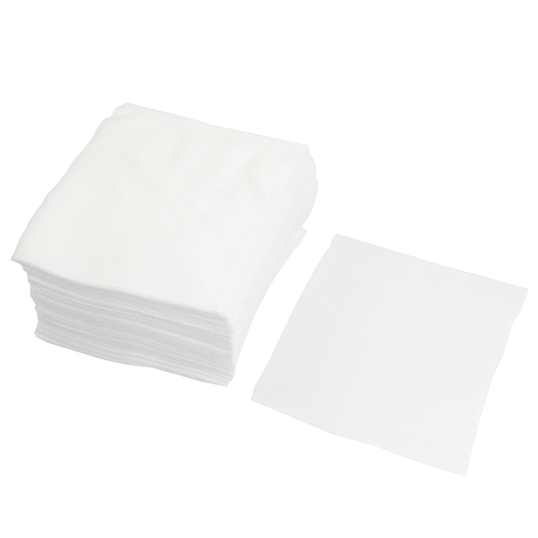 "150 Pcs 6"" x 6"" White Dustless Cleanroom Wiper Wiping Cloth"