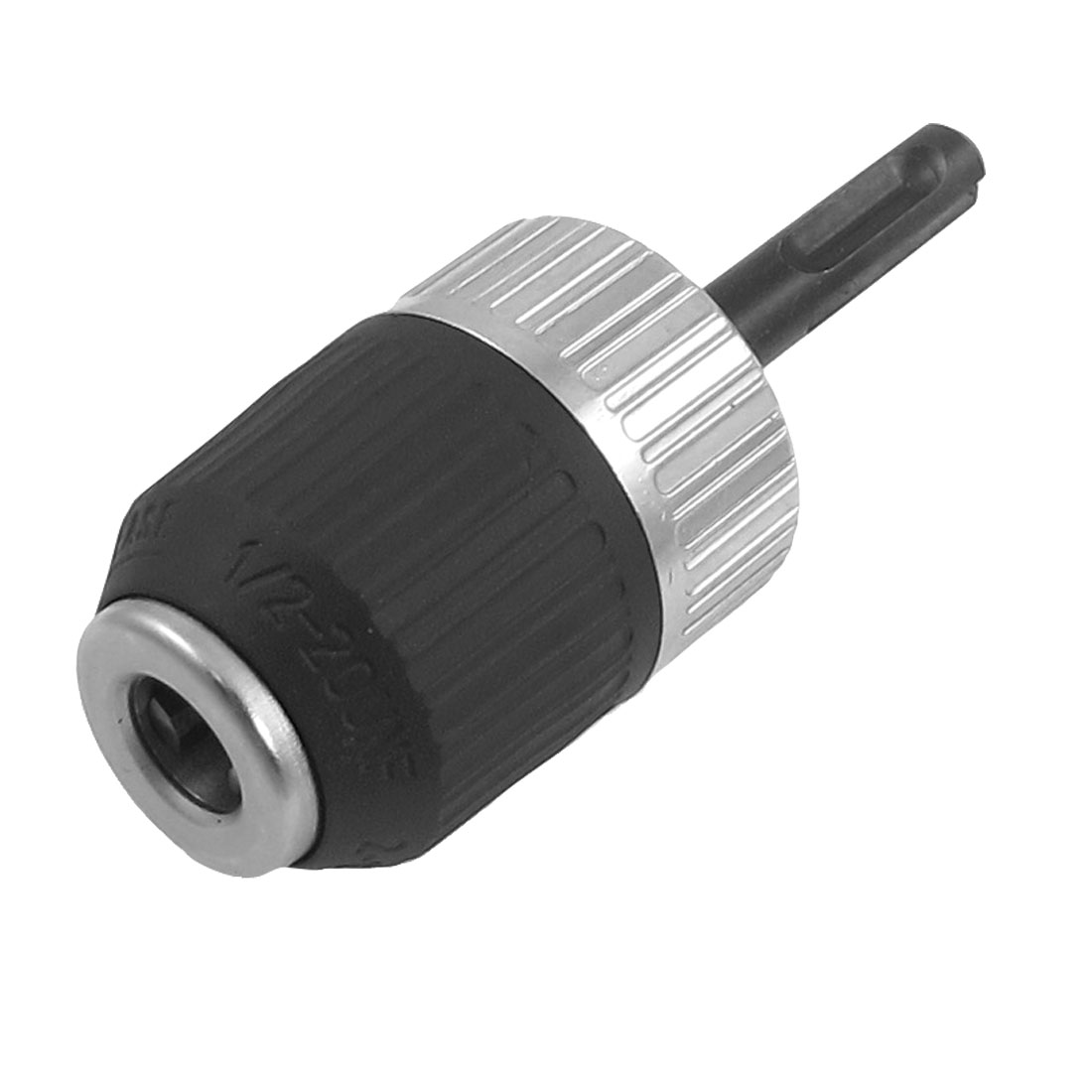 1/2-20 UNF Mount 2-13mm Capacity Keyless Drill Chuck w SDS Plus Shank