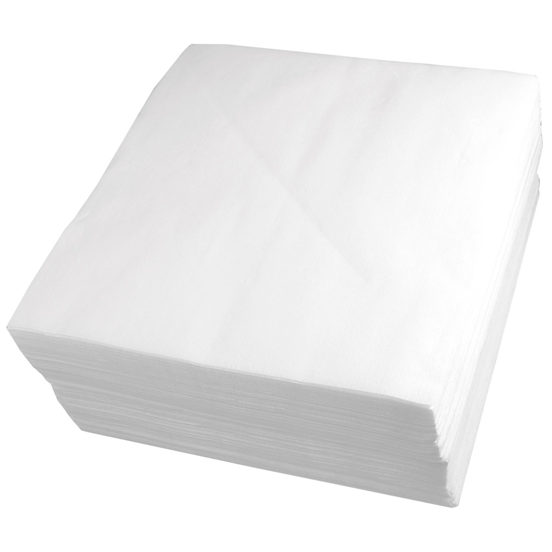 "White 9"" x 9"" Cleanroom Wipers LCD Screen Cleaning Cloth 300 Pcs"