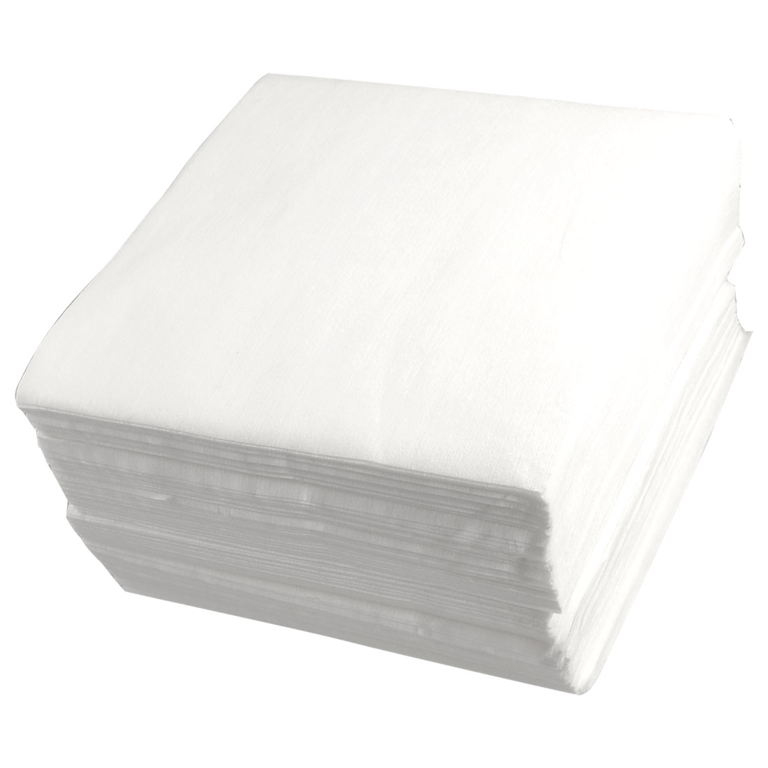 "White 6"" x 6"" Polyester Non-woven Clean Cleanroom Wipers 300 Pcs"