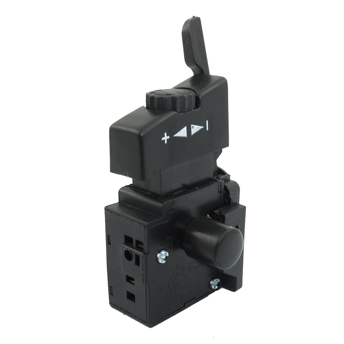AC 250V 6A Lock On Black Hand Drill Power Speed Control Trigger Switch