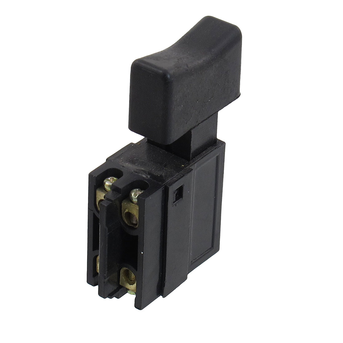 AC 250V 6A Momentary DPST NO Black Shell Electric Tool Trigger Switch
