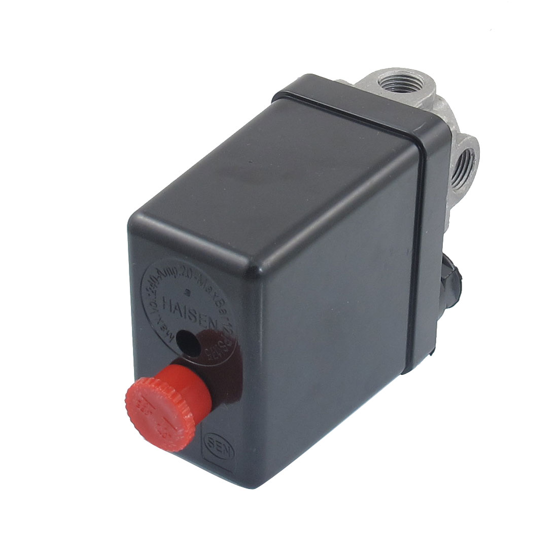 AC 240V 20A 175PSI 12 Bar 4 Port Air Compressor Pressure Switch Control Valve