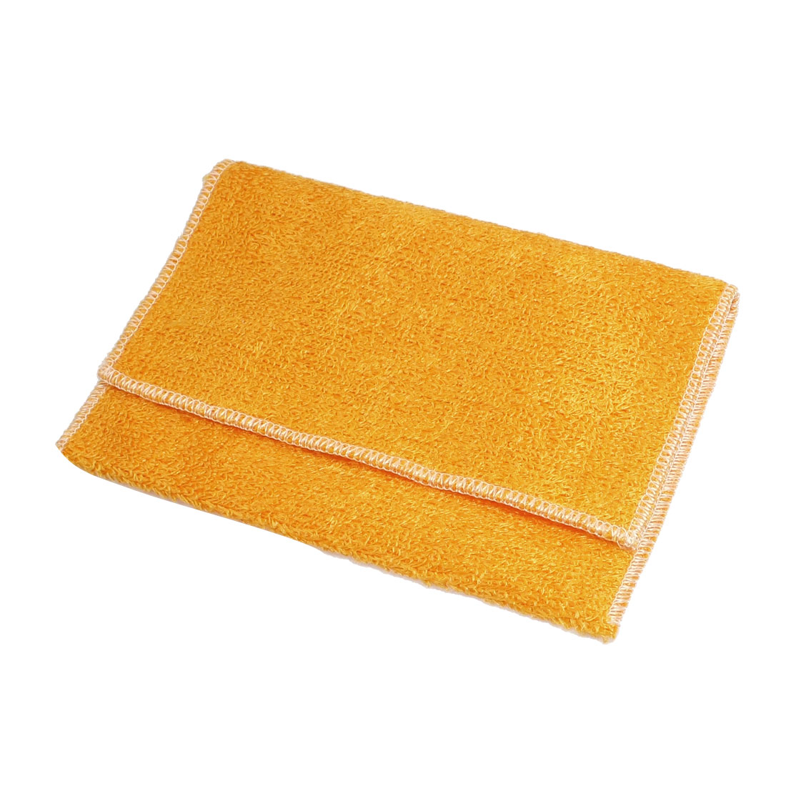 Artificial Fibre Softness Hand Face Cleaning Towel Cloth Orange