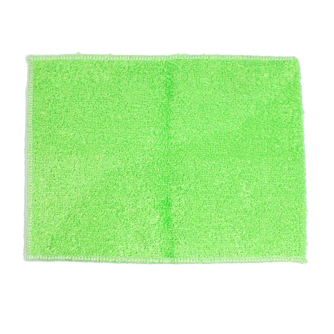 Green Artificial Fibre Softness Hand Face Cleaning Towel Cloth