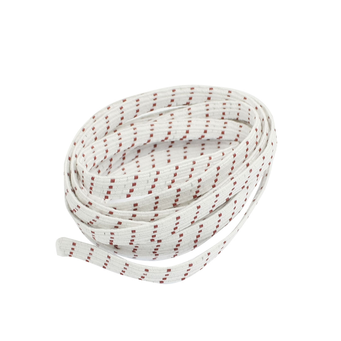 Ladies Textured Elastic Waist Belt Corset Band White Red