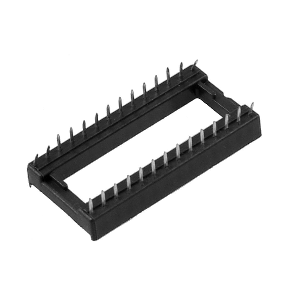 28 Pin 2.54mm Pitch DIP IC Sockets Adaptor Solder Type Socket