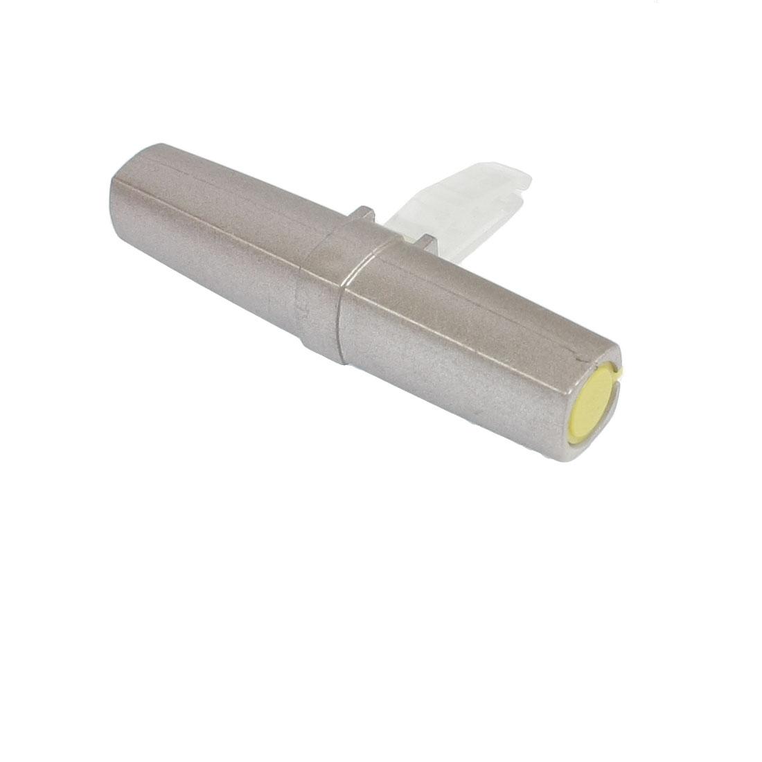 Silver Tone Plastic Shell Car Interior Vent Breeze Ocean Air Freshener