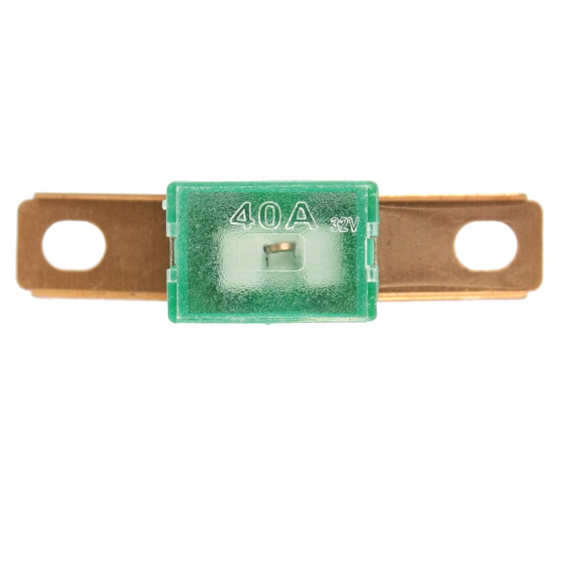 40A 62mm Bent Male Auto Link Pacific Type PAL Fuse Green