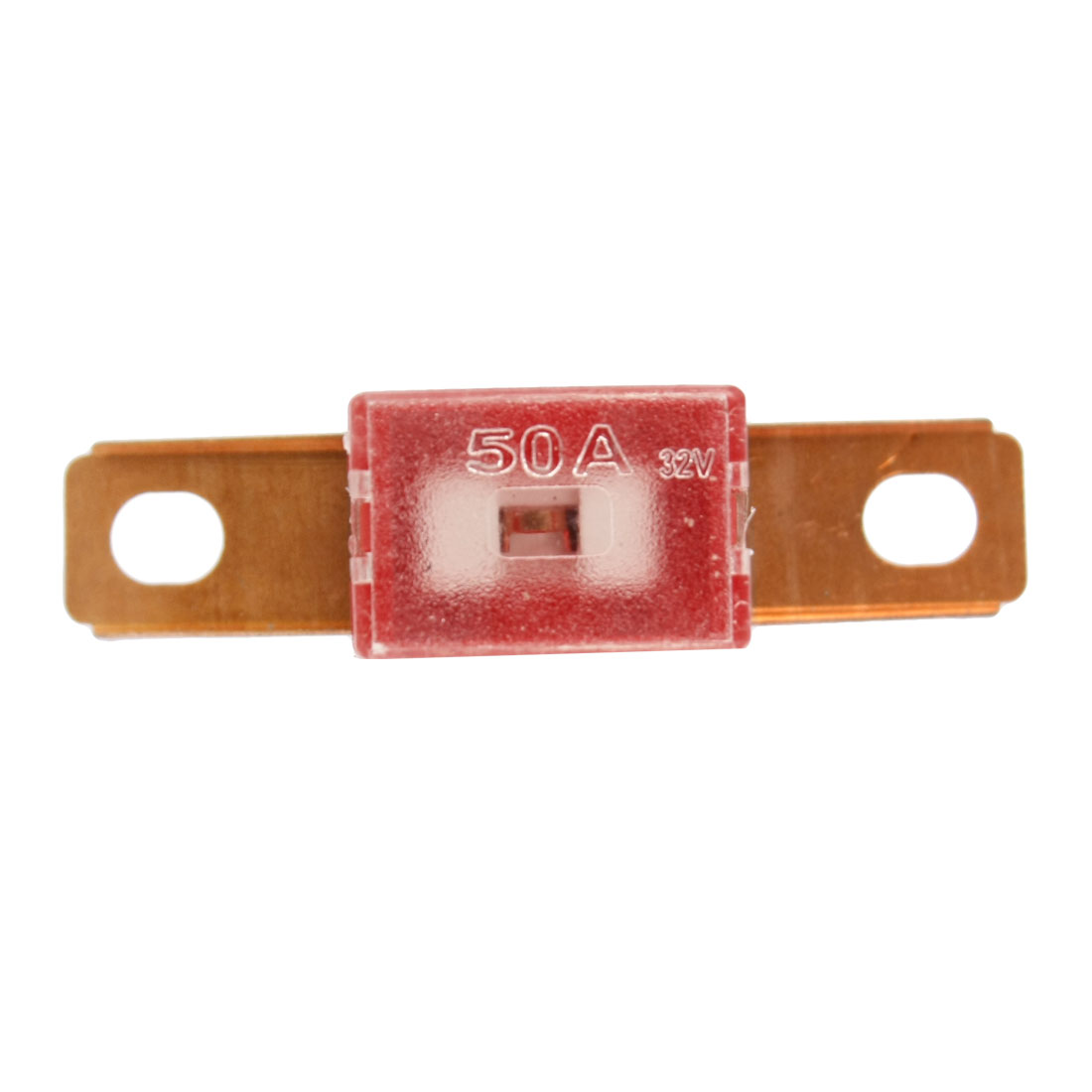 50A Slow Blow Bent Male Auto Link PAL Fuse Red