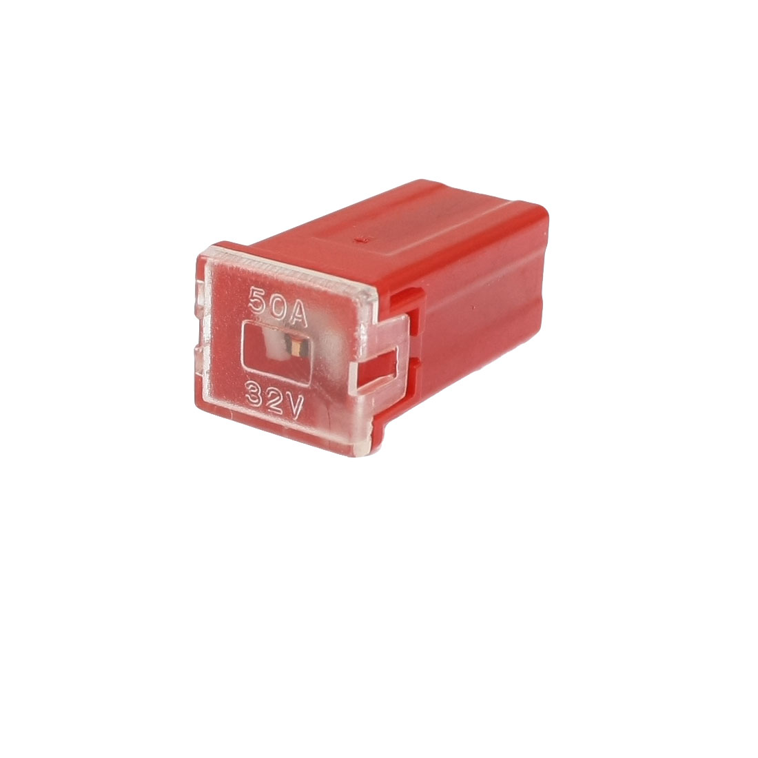 Car Auto Link Red Slow Blow PAL Female Mini Fuse 50A 32V