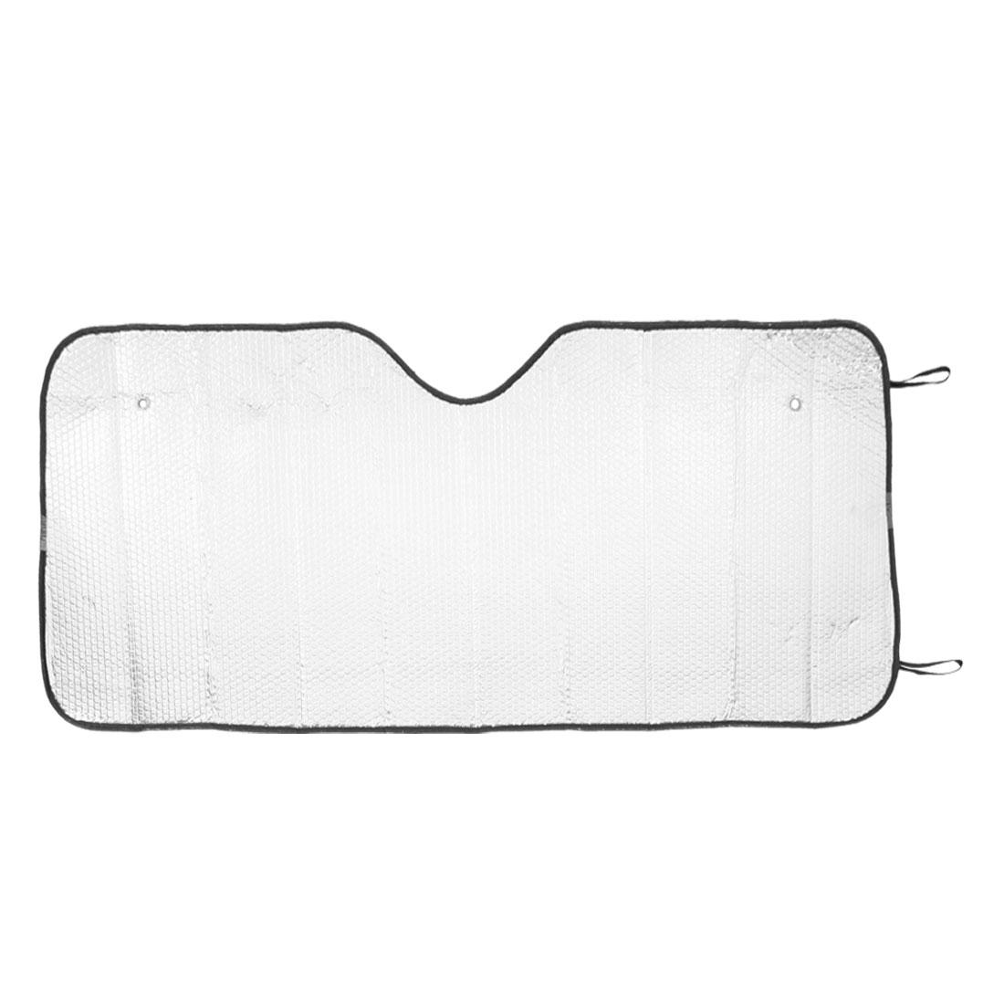 "50"" x 24"" Car Rear Window Reflective Bubble Aluminum Foil Sunshade"