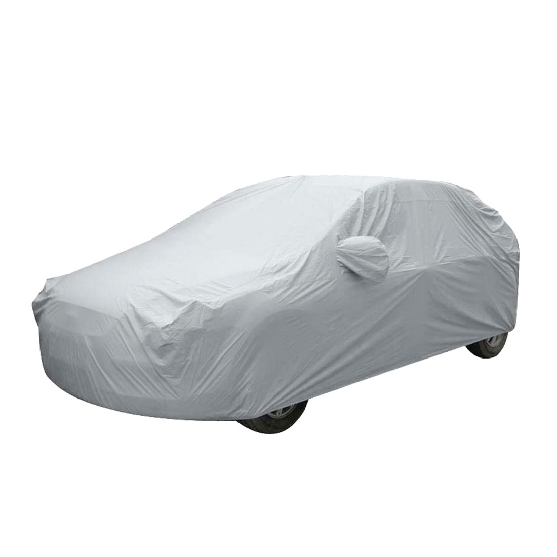 Outdoor Anti Dust Water Proof Sedan Car Cover Silver Tonefor BMW X5 X6