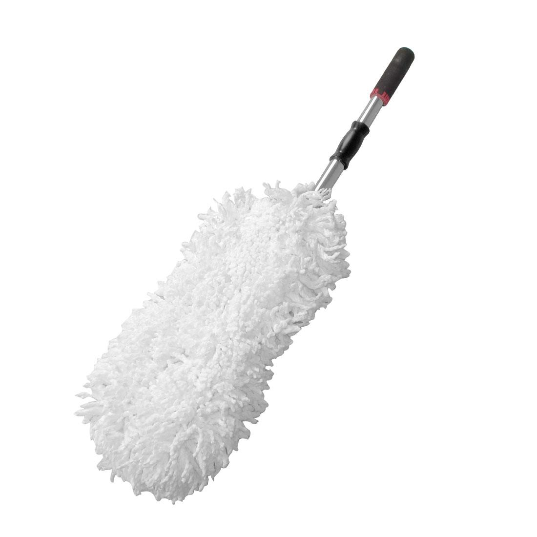 Telescopic Foam Coated Handle Car Microfiber Cleaning Waxing Duster Bush