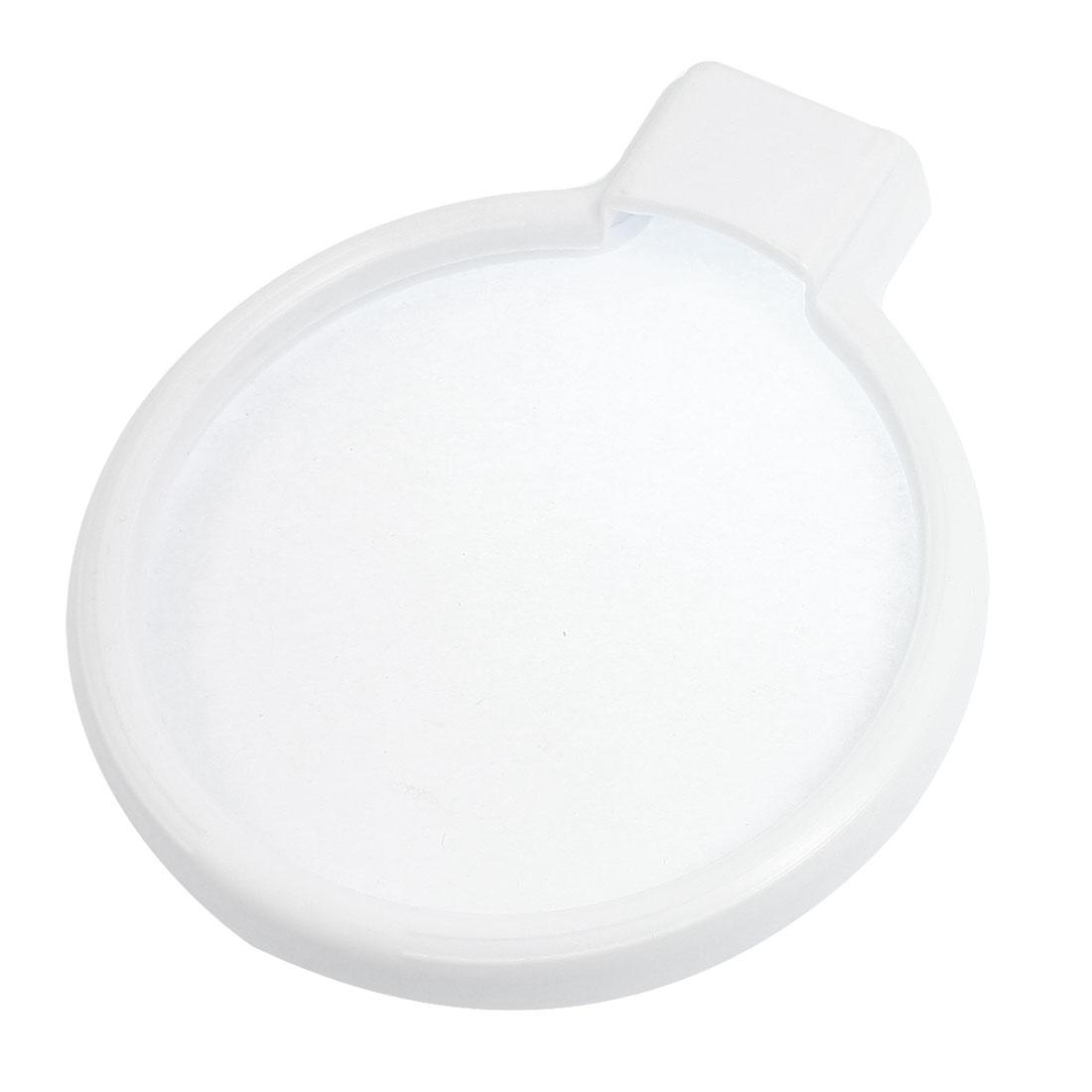 10cm Transparent Film Diameter Plastic Food Jam Fresh Lid