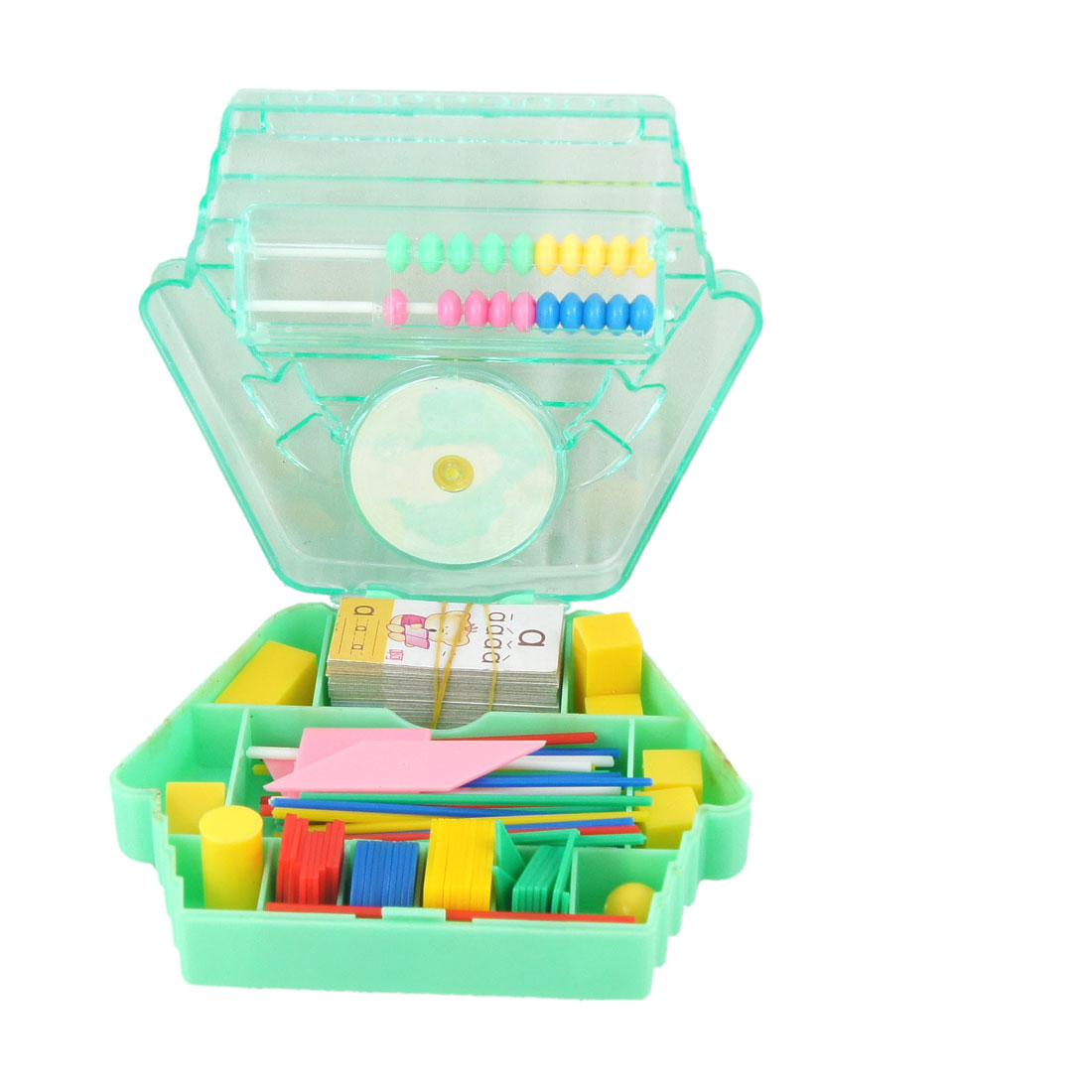 Watch Accent Green House Design Abacus Jigsaw Puzzle Toy for Child