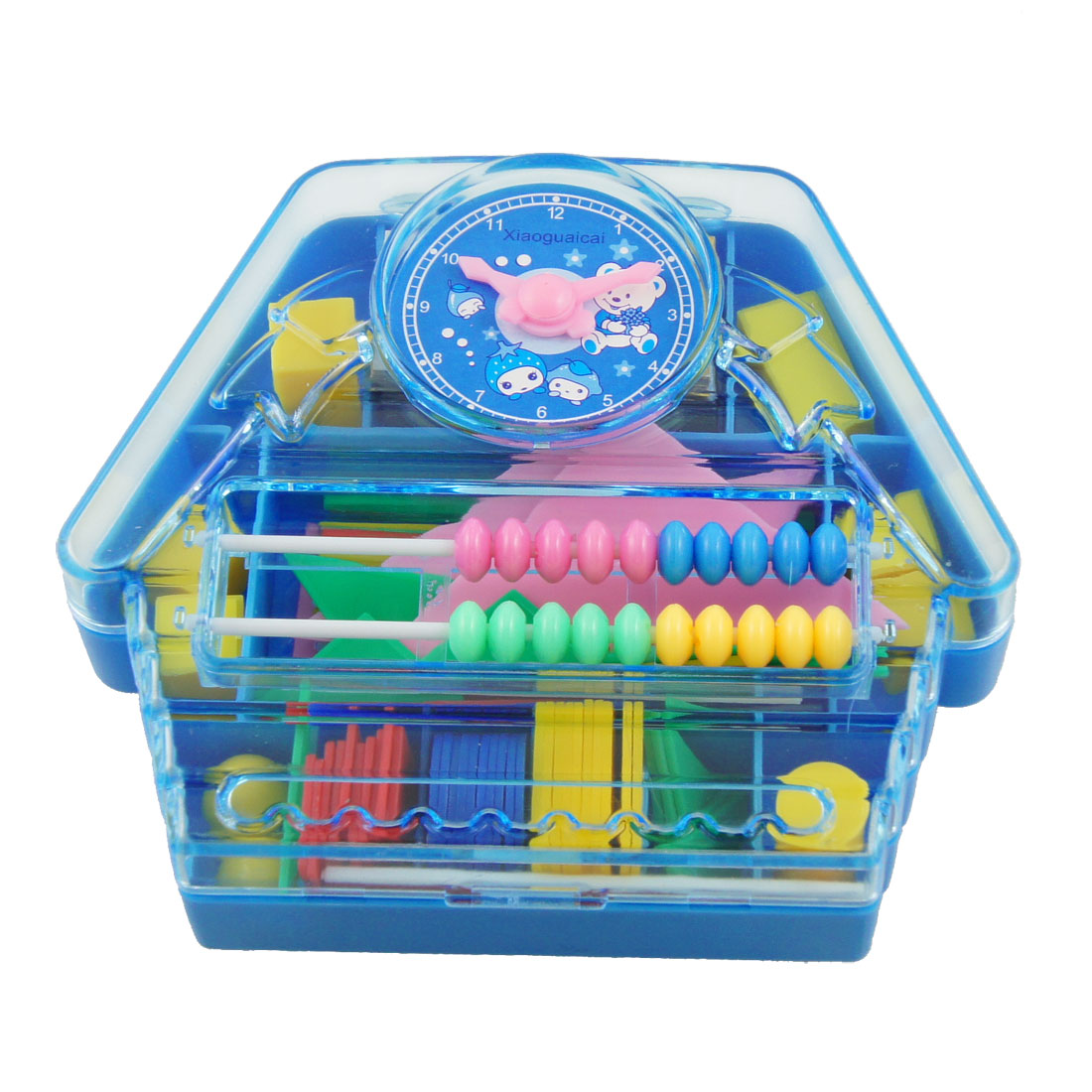 Blue Watch Decor Child Intelligence Training Abacus Jigsaw Puzzle Toy