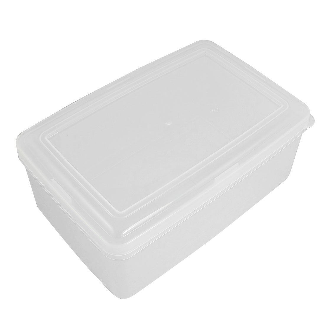 Kitchen Plastic Rectangular Microwave Food Storage Container 2.4 Litre