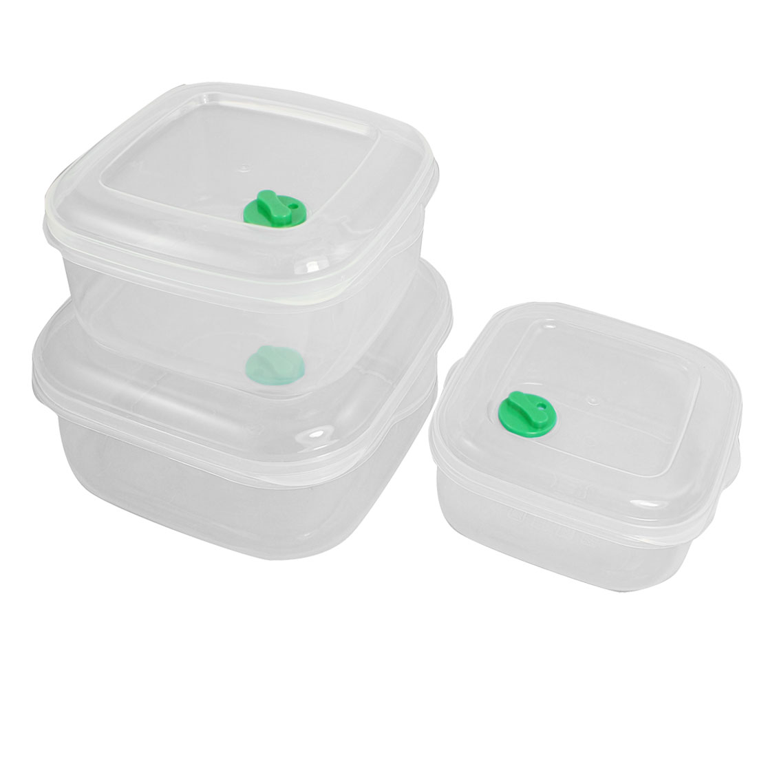 400ml 750ml 1200ml Microwave Safe Vented Lid Food Storage Container 3 in 1