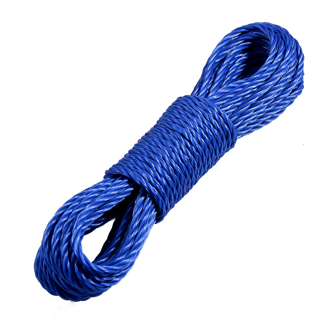 Home Outdoor Dark Blue Twisted Nylon Clothes Rope String Line 9.4M