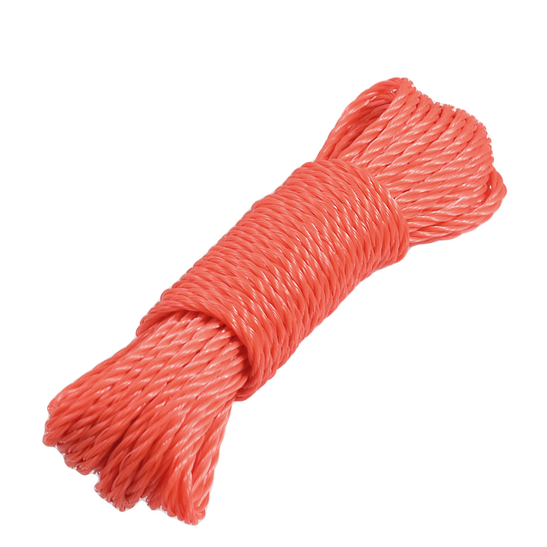9.4M 30.8Ft Long Red Nylon Clothes Rope Line Clothesline