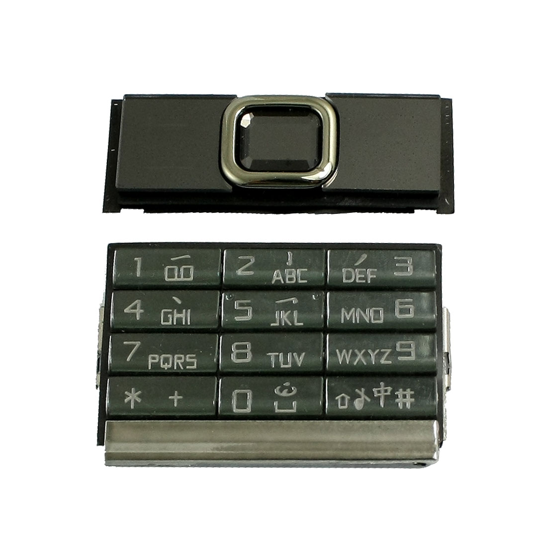 Black Shell Function Key Replaceable Keyboard for Nokia 8900